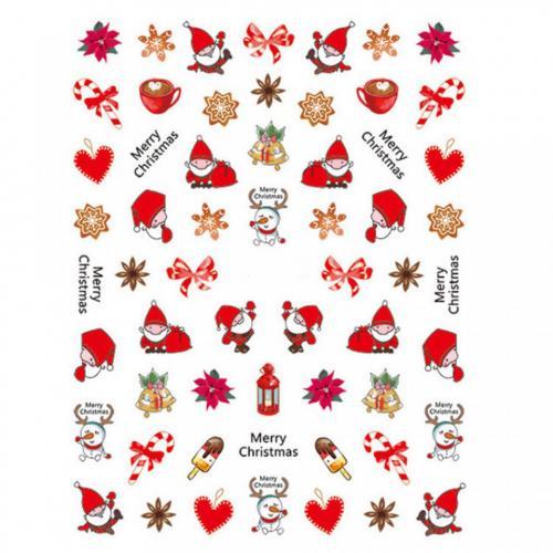 Abtibild unghii SD-010 Jingle Bells - Produse Nail Art -