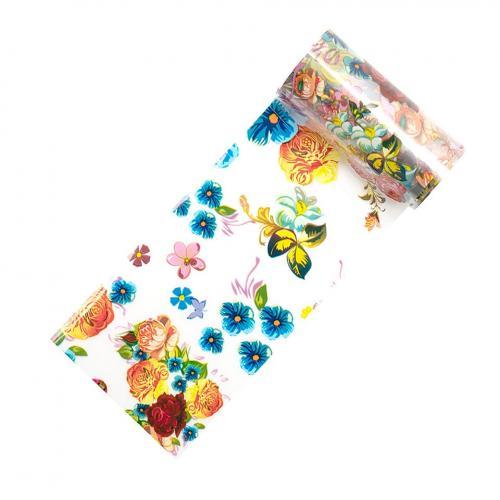 Folie de Transfer Unghii LUXORISE #215 Bloom - Produse Nail Art - Folii Transfer Unghii