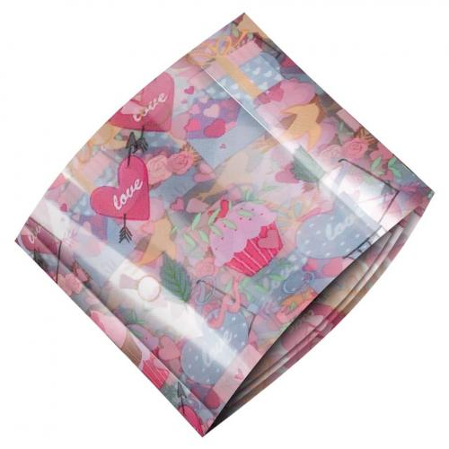 Folie de Transfer Unghii LUXORISE #469 Sweet Love - Produse Nail Art - Folii Transfer Unghii