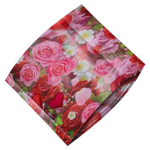 Folie de Transfer Unghii LUXORISE #471 Lovely Flowers - Produse Nail Art - Folii Transfer Unghii