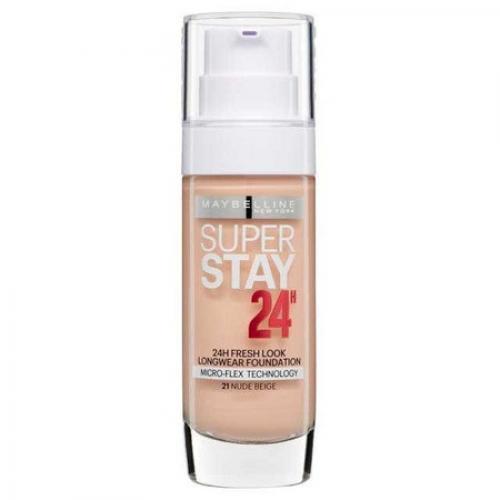 Fond de ten rezistent Maybelline Superstay 24 H - 21 Nude Beige - Fond de ten -