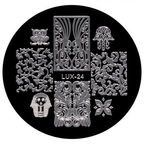 Matrita Metalica Stampila Unghii LUX-24 - Fashion - Produse Nail Art - Matrita Unghii