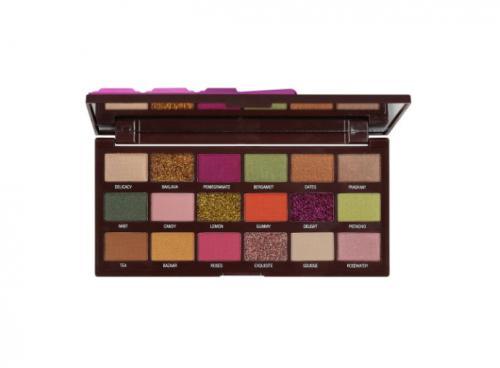 Paleta farduri de ochi Kiss Crown Turkish Delight - 18 Culori - Trusa Machiaj Glitter -