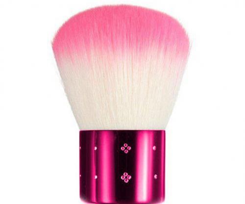Pensula Profesionala Kabuki Pink - Diamond Crystals - Pensule Si Accesorii - Pensule Machiaj