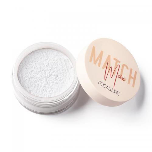 Pudra translucida de fixare machiaj Focallure Match Max 01 Clear - Produse de Machiaj - Pudra de Fata