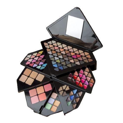 Trusa machiaj SFR Color 130 culori fard - Trusa Machiaj Glitter -